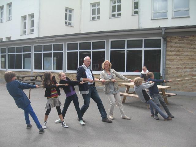 Das Ganztags-Team der Schule auf der Uhlenhorst