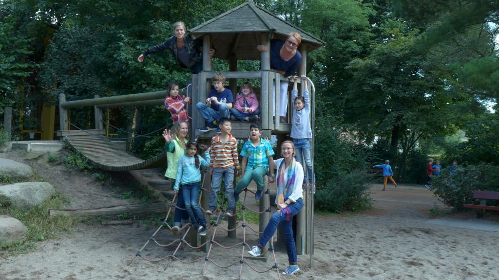 Das Ganztagsteam der Schule Tonndorf