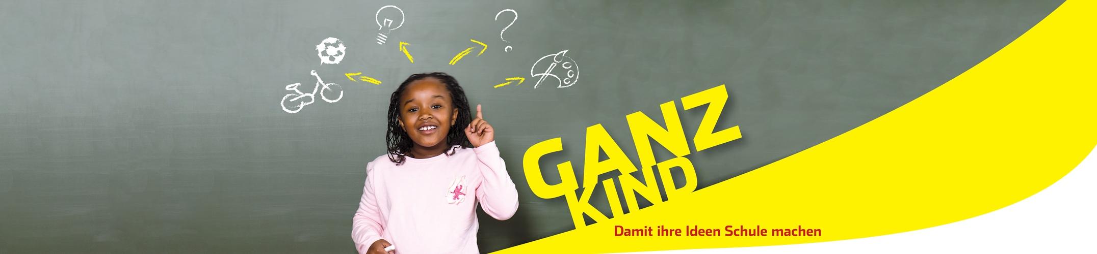 Ganz Kind - bei einer guten GBS-Betreuung steht das Kind im Mittelpunkt